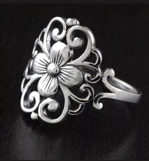 Pure 925 Sterling Silver Ring Size 6 for Sale in Los Angeles, CA