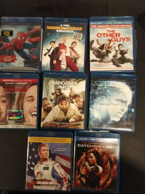 BluRay and DVD lot for Sale in Canterbury, CT