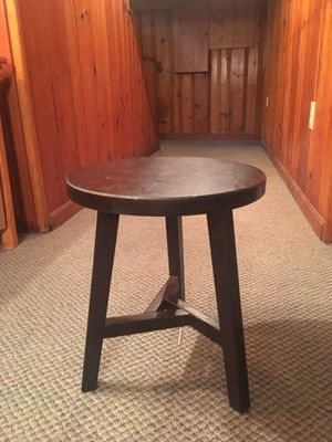 Farmhouse Round Stool for Sale in Steubenville, OH