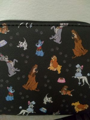 Disney Loungefly DOGS Zipper Wallet NWT for Sale in Los Angeles, CA
