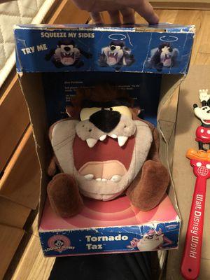 Vintage plush toys Disney Mickey taz tweety Ernie for Sale in Queens, NY