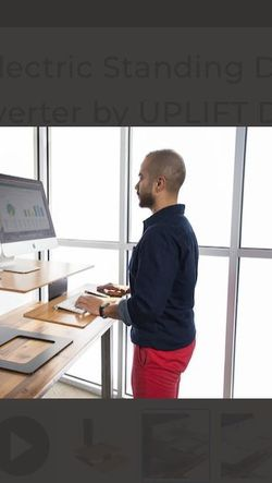 E7 Electric Standing Desk Converter by UPLIFT Desk for Sale in Seattle,  WA