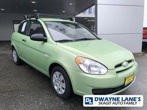 2009 Hyundai Accent GS MANUAL for Sale in Arlington, WA