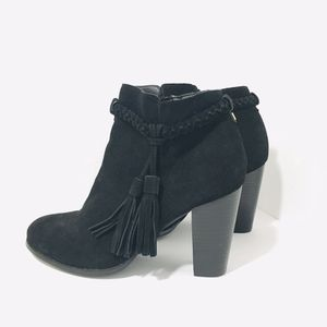 NEW Faith Black Suede Tassel Booties Size 7/40 for Sale in Anaheim, CA