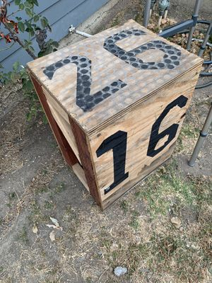CrossFit plyo box for Sale in Sunnyvale, CA