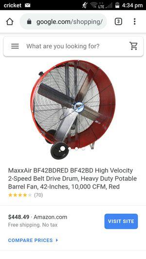 MaxxAir Barrel Fan for Sale in Milwaukie, OR