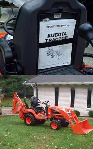 GoodDeal2016 Kubota BX 25D low hrs for Sale in Toledo, OH