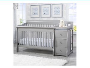 Used convertible crib/toddler bed/full bed for Sale in Fountain Valley, CA