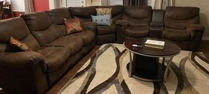 Ashley Sectional with 4 reclining chairs for Sale in Greenville, SC
