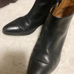 Coach Ankle Leather Boots for Sale in Cary, NC