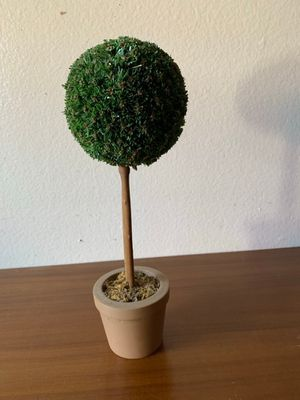 "fake potted plant decor 12"" for Sale in Santa Ana, CA"