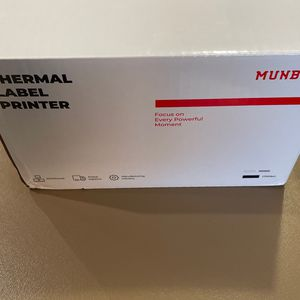 MUNBYN Thermal Label Printer 4x6, High-Speed 150mm/s Direct USB Thermal Barcode 4×6 Shipping Label Printer Maker Writer Machine, One Click Set up,Comp for Sale in Orlando, FL