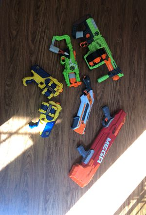 6 nerf guns for Sale in Cumming, GA