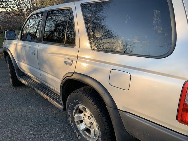 1998 Toyota Fourunner stick shift