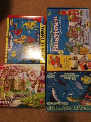 Board game/floor puzzle for Sale in Charlotte, NC