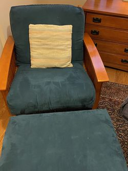 Chair And Leg Rest for Sale in Arlington,  VA