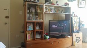 Tv stand with storage for Sale in Annandale, VA