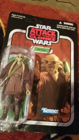 RARE star wars kit fisto figure for Sale in Martinsburg, WV