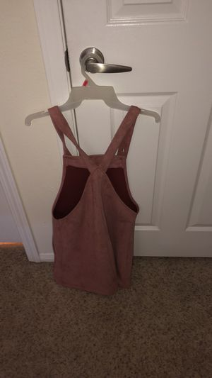Pink overall dress for Sale in Lake Elsinore, CA