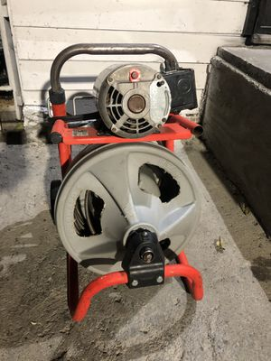 RIDGID 115-Volt K-400 Drum Machine with C-31 3/8 in. Integral Wound Cable for Sale in Huntington Park, CA
