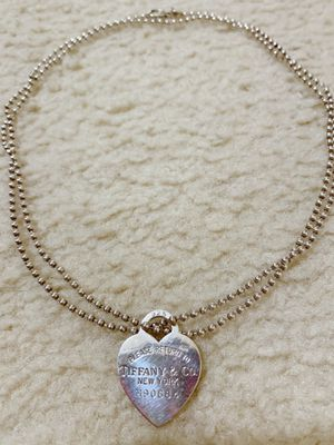 Tiffany 925 sliver necklace for Sale in Alexandria, VA
