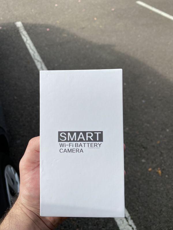 Wireless motion sensor, security camera