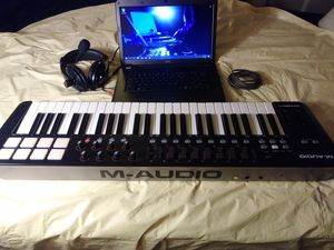 Laptop Studio/w 49 Key Midi controller for Sale in Fairview Heights, IL