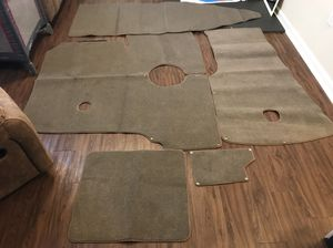Boat carpet (never used) fits 2015 stingray deck boat for Sale in Fort Campbell, KY