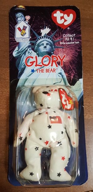 Glory the Bear Ty Beanie Baby tag error... for Sale in Conway, AR
