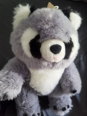 "Raccoon 13"" stuffed Animal Novelty inc #15098 for Sale in Des Plaines, IL"