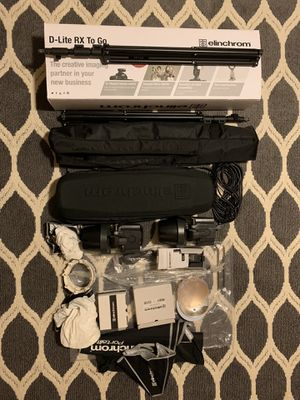 elinchrom d-lite 4 kit for Sale in Atlanta, GA