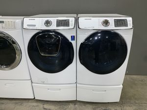 SAMSUNG STEAM XL CAPACITY WASHER DRYER ELECTRIC SET for Sale in Vancouver, WA