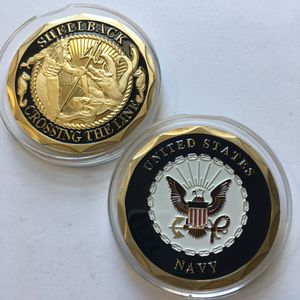 US NAVY TRUSTY SHELLBACK CROSSING THE LINE CHALLENGE COIN for Sale in Cranston, RI