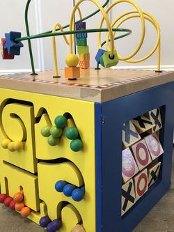 Battat Wooden Activity Cube for Sale in Newberg,  OR