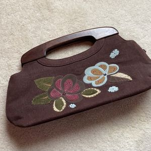 Forever by Fossil wood handle bag for Sale in McLean, VA