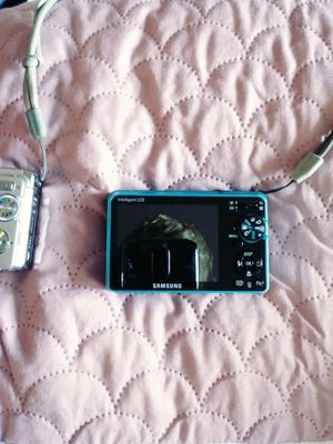 2 other cameras 1 Samsung and the other Sony in very good condition for Sale in Philadelphia, PA