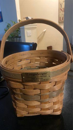Longaberger basket for Sale in West Lake Hills, TX