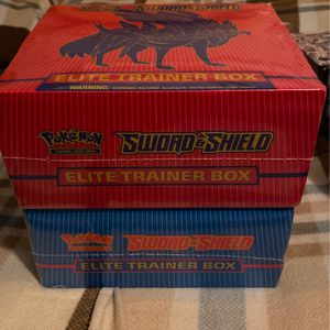 Pokemon Cards - Sword & Shield Elite Trainer Boxes for Sale in Downey, CA