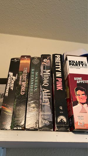 VHS tapes for Sale in San Diego, CA