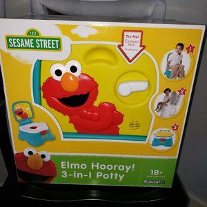 Elmo Hooray 3 in 1 Potty for Sale in Millington, TN