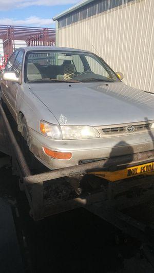 96 toyoya Corolla 5speed for Sale in Denver, CO