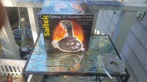 saitek 3d rumble force gaming joy stick for Sale in Winston-Salem, NC