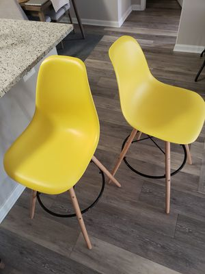 A Set of Shell Bar Stools for Sale in Owings Mills, MD