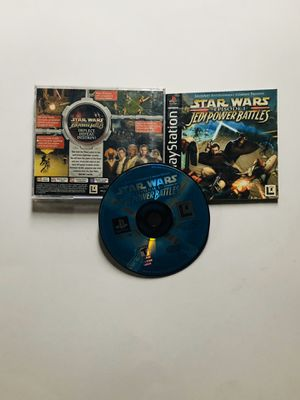 Star Wars episode 1 Jedi Power battles PlayStation 1 Ps1 for Sale in Long Beach, CA