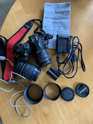 Olympus E510 camera with lenses for Sale, used for sale  Pequannock Township, NJ