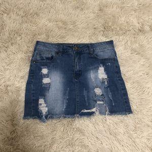 Mini jean skirt for Sale in San Antonio, TX