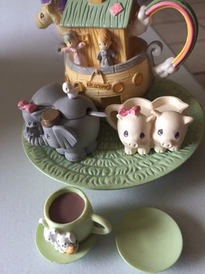 Precious moments- missing cup- with box- 10.00 for Sale in Georgetown, TX