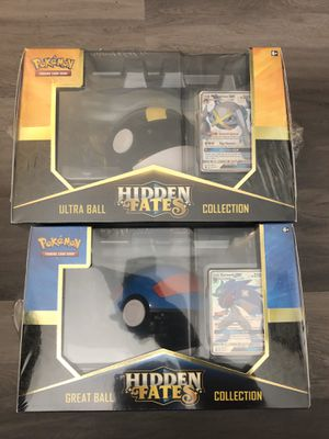 Pokemon hidden fates great ball or ultra ball collection box for Sale in Hayward, CA