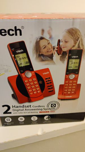 VTech handset cordless digital answering system brand new never opened for Sale in Cleveland, OH