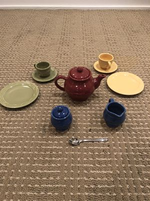 Longaberger child's tea set for two for Sale in San Diego, CA
